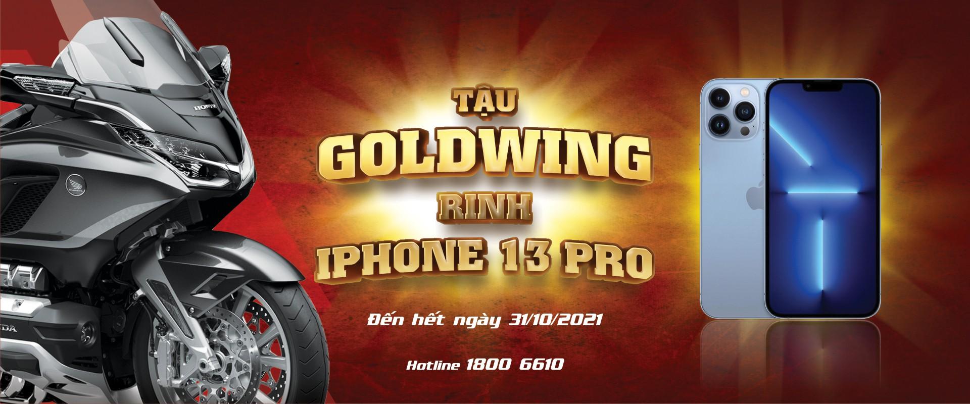 Tậu Goldwing - Rinh Iphone